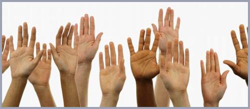 Hands Border